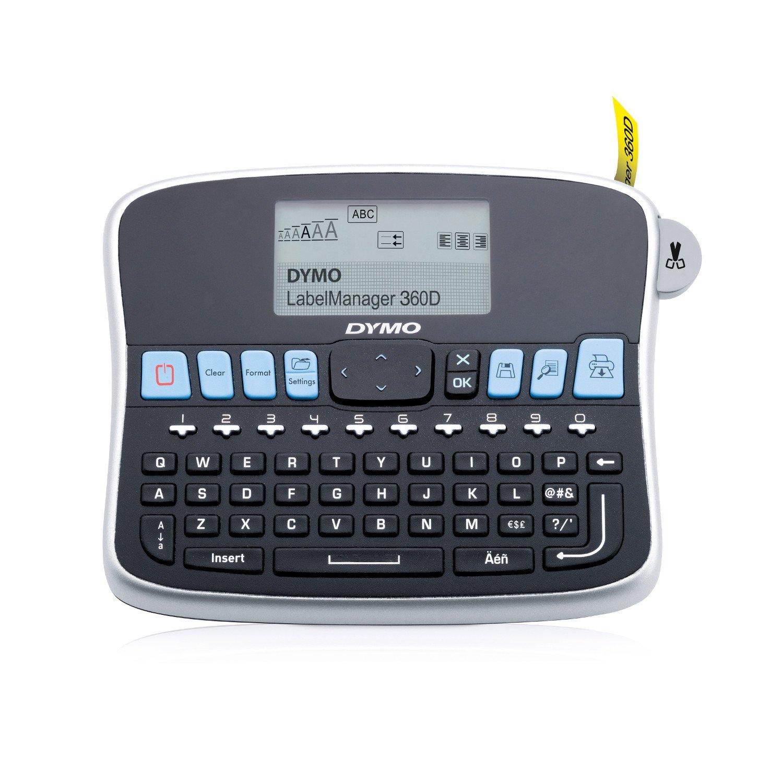Dymo LabelManager 360D Impresora de etiquetas, Teclado QWERTY (Versión Española): Amazon.es: Electrónica