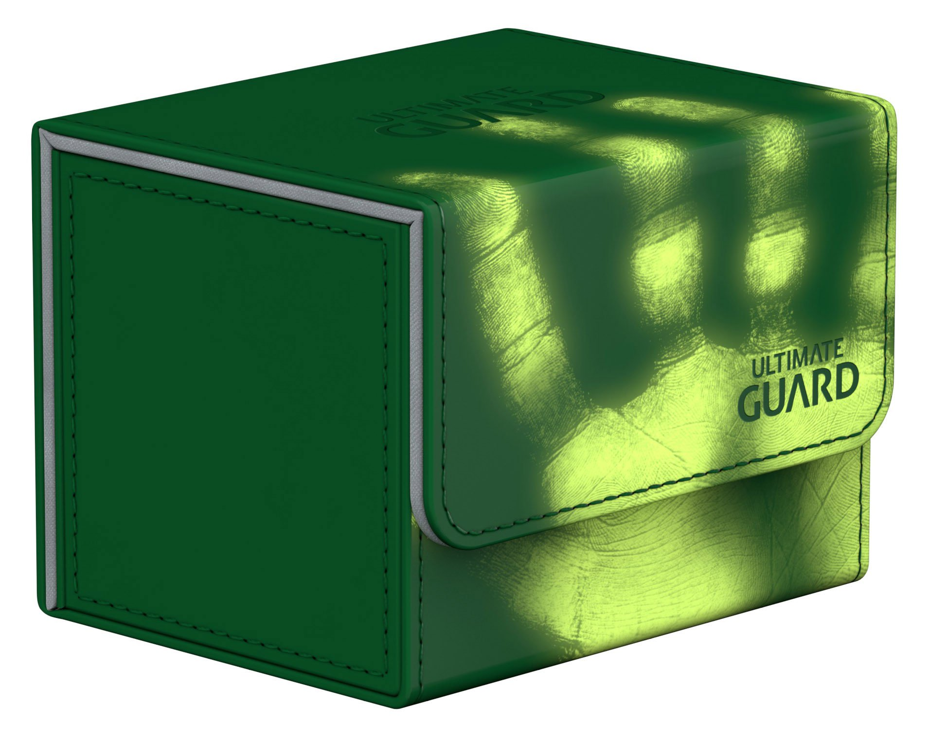 Ultimate Guard Deck Box: Sidewinder 100+ ChromiaSkin Green by Ultimate Guard