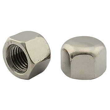 V2A SC-Normteile | SC439 M6 50 St/ück Sechskantmuttern niedrige Form, mit Fase | Edelstahl A2 | DIN 439