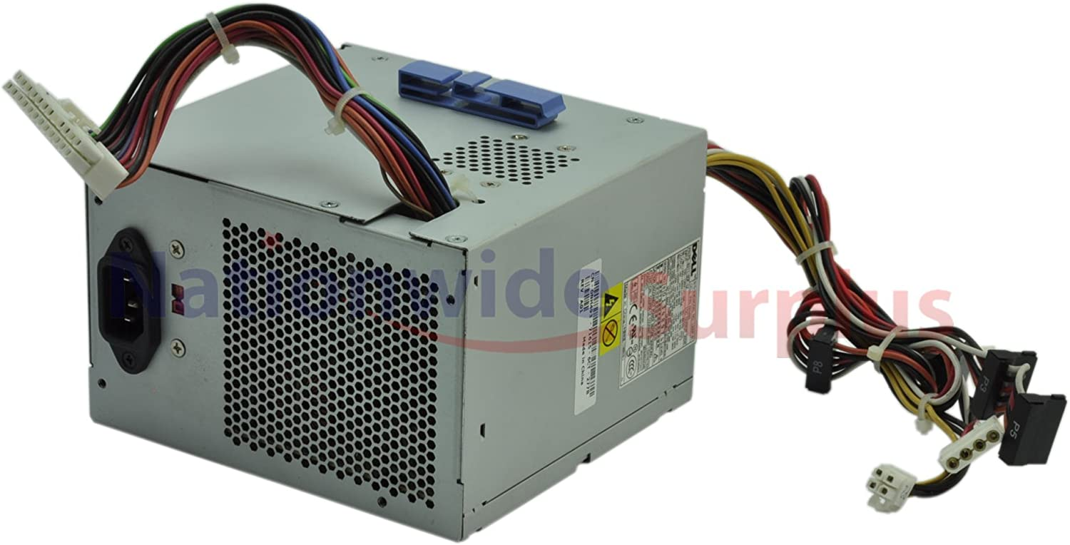 Dell Dimension 521 305W 24Pin 4Pin Power Supply L305P-01 NH493 PS-6311-5DF-LF (Certified Refurbished)