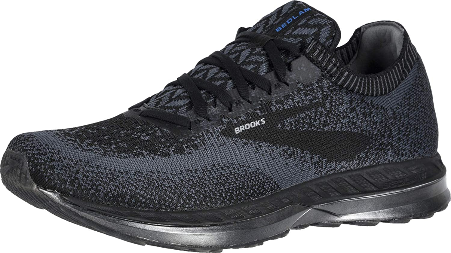 Brooks Bedlam Black Ebony Black 10 D US