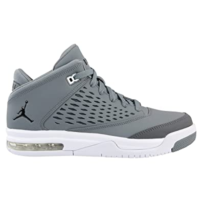 5bf1347752740 Nike Baskets pour Enfants AIR Jordan Flight Origin 4 en Cuir Gris  921201-003  Amazon.fr  Chaussures et Sacs
