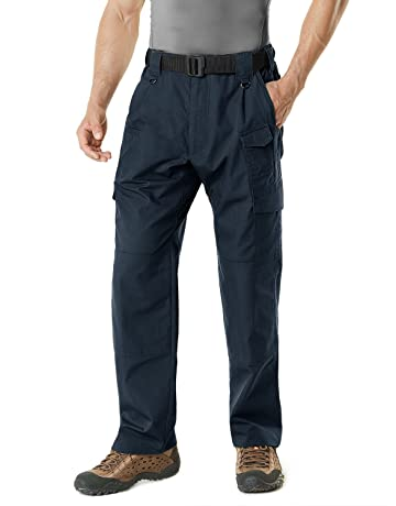427e0f8fd55 CQR Men s Tactical Pants Lightweight EDC Assault Flap Pockets Cargo