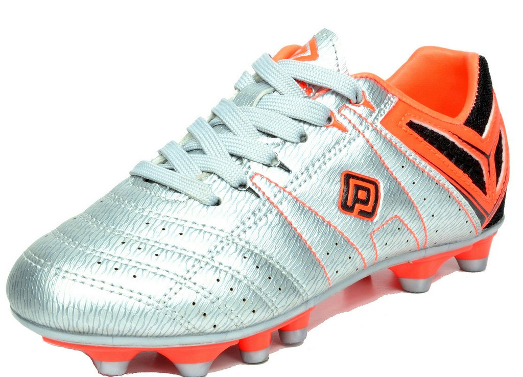 DREAM PAIRS メンズ B01IYF33U6 10.5 D(M) US|Sivler/Orange/Black Sivler/Orange/Black 10.5 D(M) US