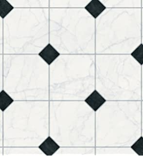 black and white diamond tile floor. EXtreme® Vinyl Flooring - Kitchen 3 Metres Wide Choose Your Own Length Black And White Diamond Tile Floor