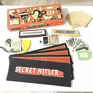 Leoie Secret Hitler Secret Hitler Cards Secret Hitler Game Card Games Interesting Game Gift
