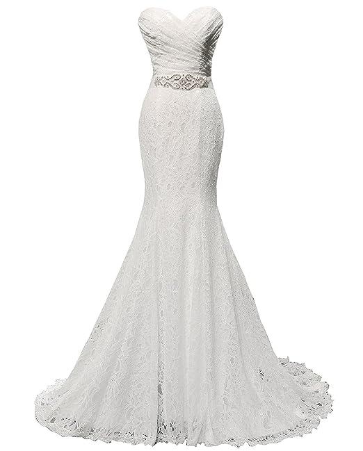 Las mujeres Solovedress atan el vestido de novia vestido de boda vestido de sirena con el