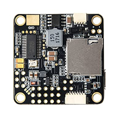 Wolfwhoop Betaflight Omnibus F4 Pro Flight Controller with SD Card Slot FC  Integrated OSD Include PPM and RSSI and Current Sensor