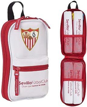 F.C. Sevilla 411756847 - Neceser con 4 estuches , 120 x 50 x 230 mm: Amazon.es: Equipaje