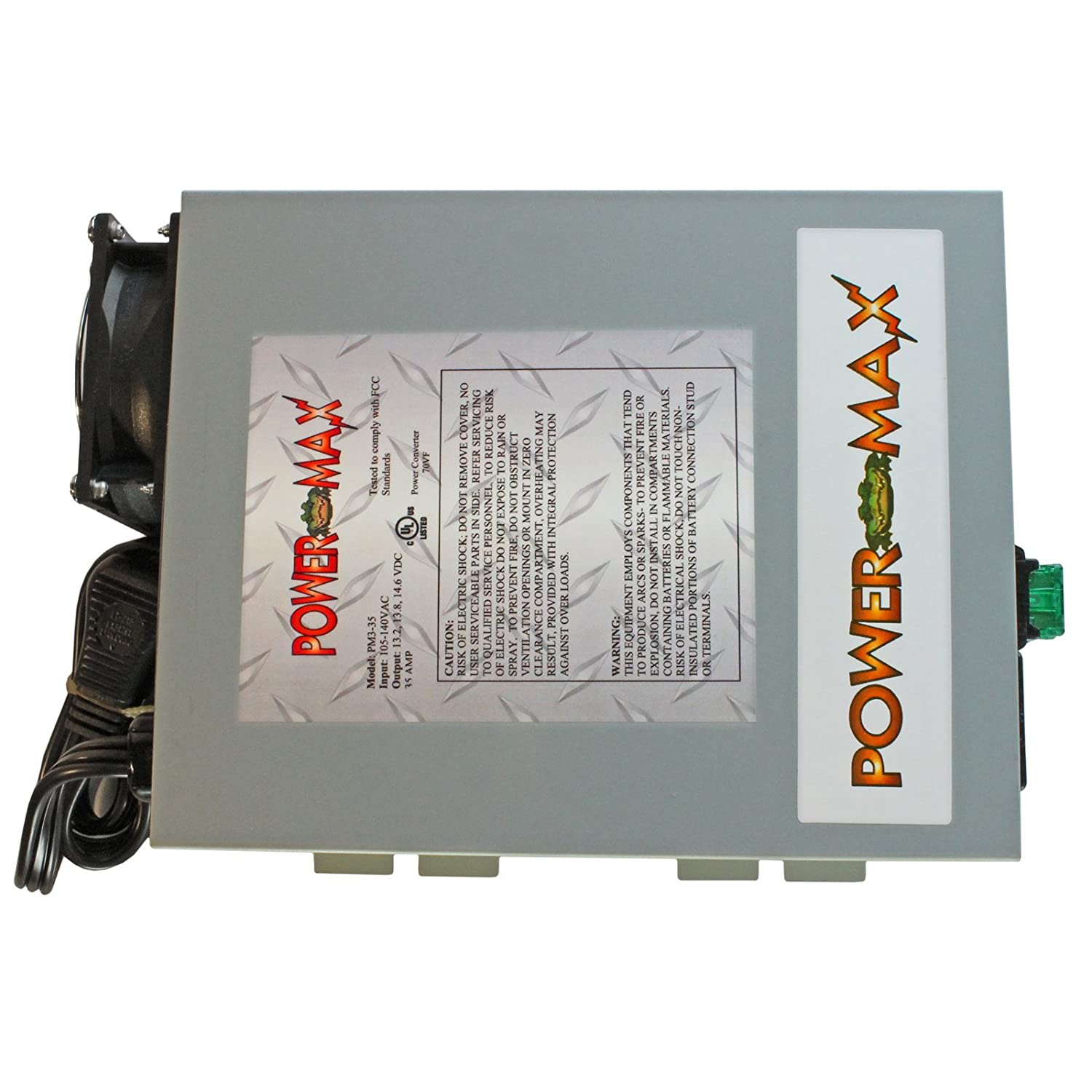 71q5PmOAG8L._SL1500_ amazon com powermax 110 volt ac to 12 volt dc power supply  at gsmx.co