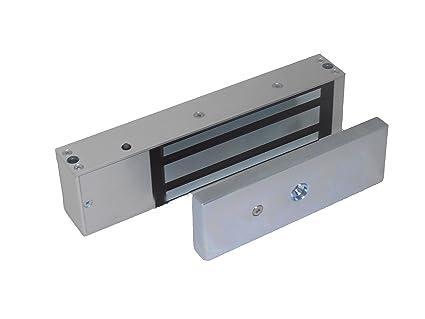 Tesa Assa Abloy CEM600SS0F Cerradura Electromagnética, Acero, Set de 1 piezas