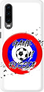 Stylizedd Huawei P30 Slim Snap Basic Case Cover Matte Finish - Game on Russia