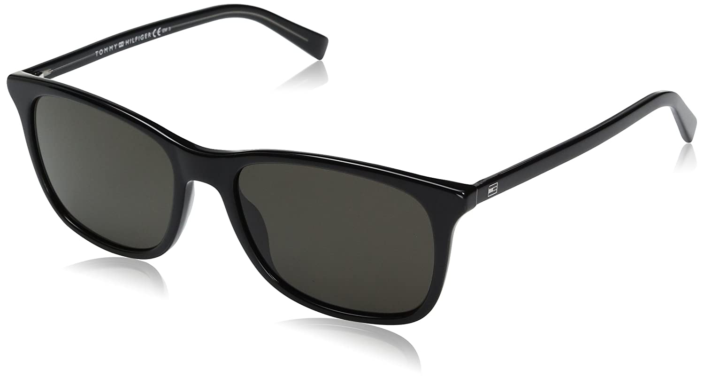 Tommy De Grey Th Gafas Hilfiger Sol Unisex 1449s Nr Adulto Black Crr7Xwq