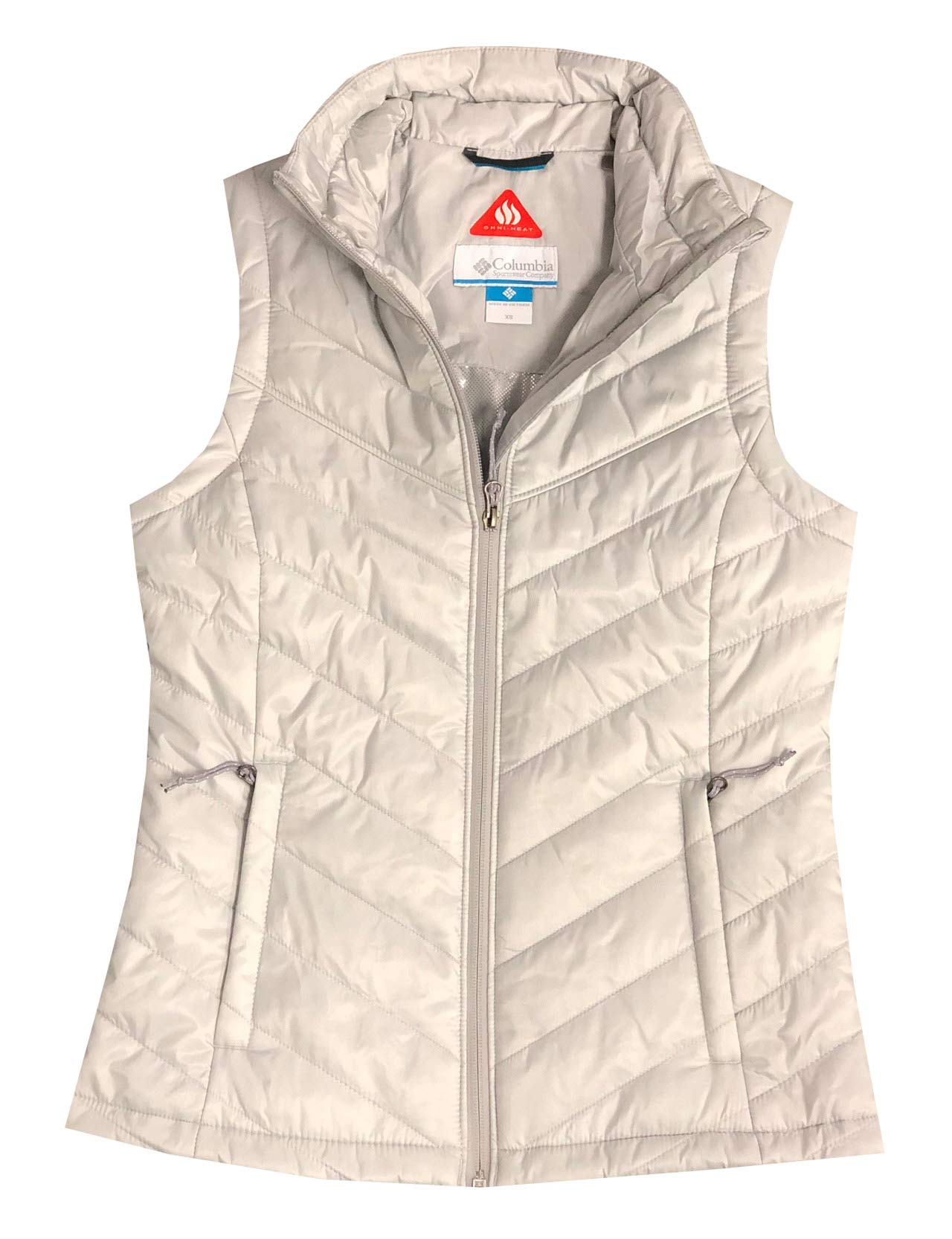 Columbia Women Morning Light III Omni-Heat Vest (XS, Aluminium) by Columbia