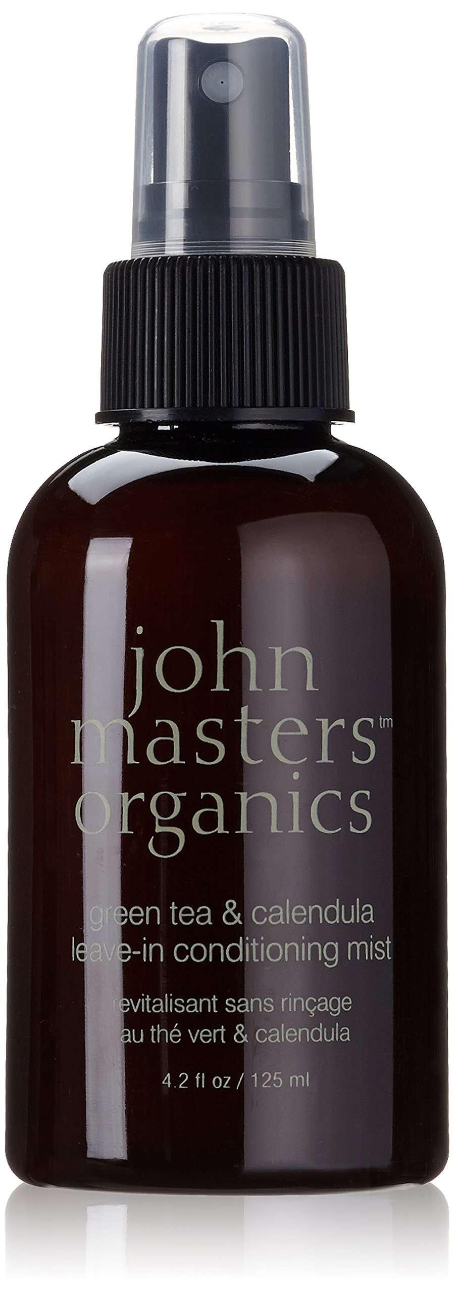 John Masters Organics Green Tea and Calendula Leave-in Conditioning Mist Spray, 4.2 Ounce