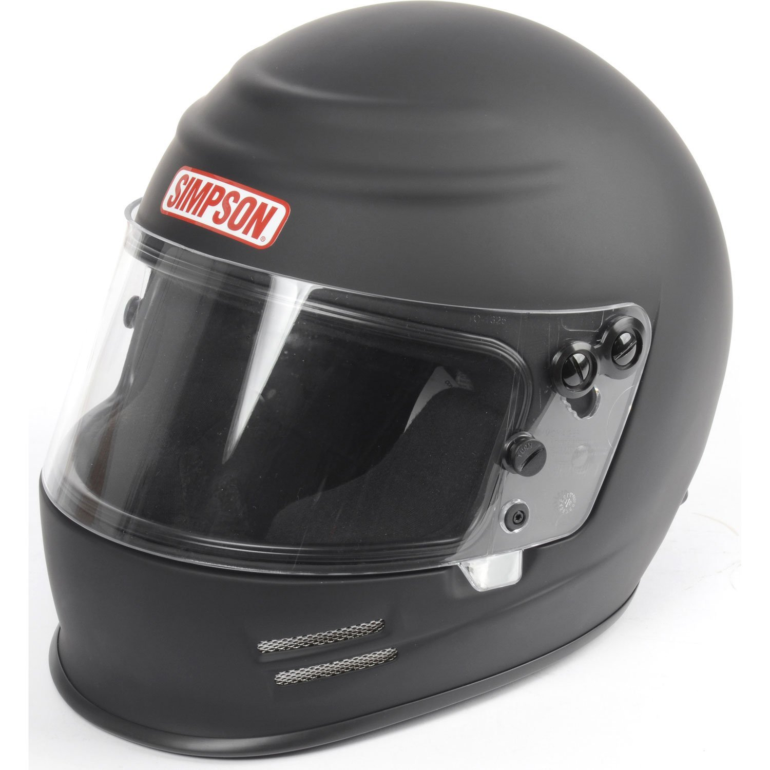 Blk Simpson 6100028 Voyager 2 Helmet 2015 Medium M