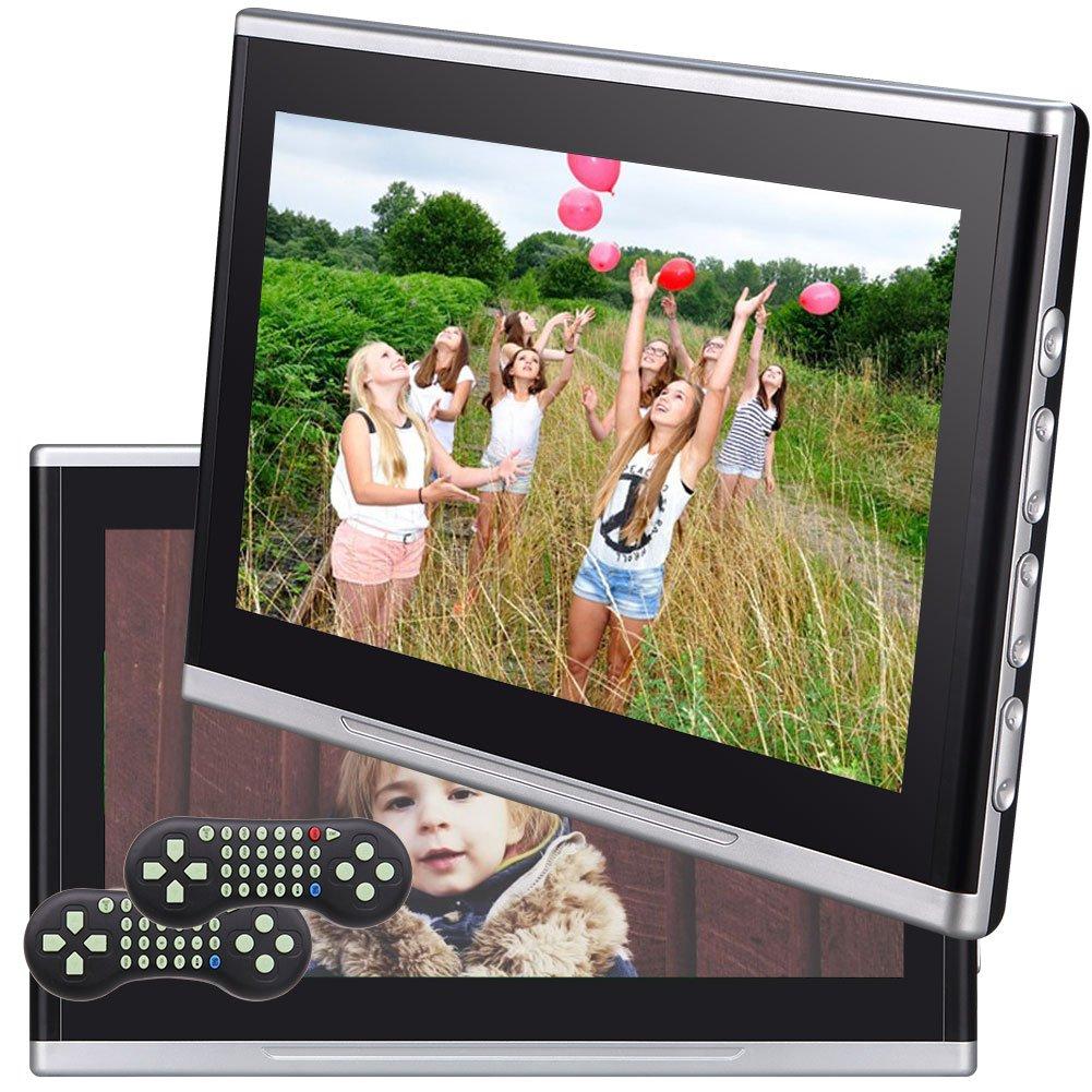 デュアルカーDVDプレーヤーEinCar HDMIポートとリモコン付き10.1