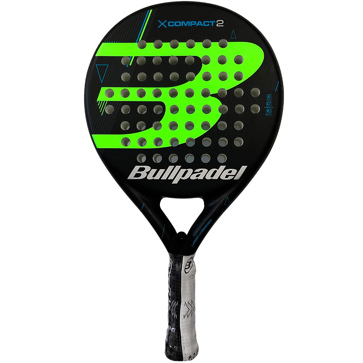 Bullpadel Pala de pádel X-Compact LTD Green: Amazon.es: Deportes y ...