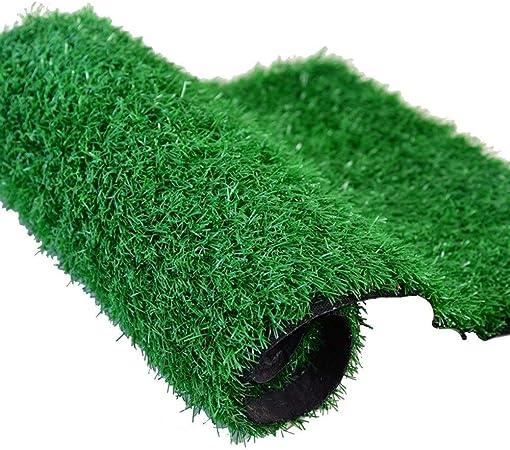 Alfombra De Cesped, Césped Artificial Artificial para Jardín Piscina Césped Artificial Estera Césped Altura 1 Cm Tamaño 2 * 6 M (Color : Army Green): Amazon.es: Hogar