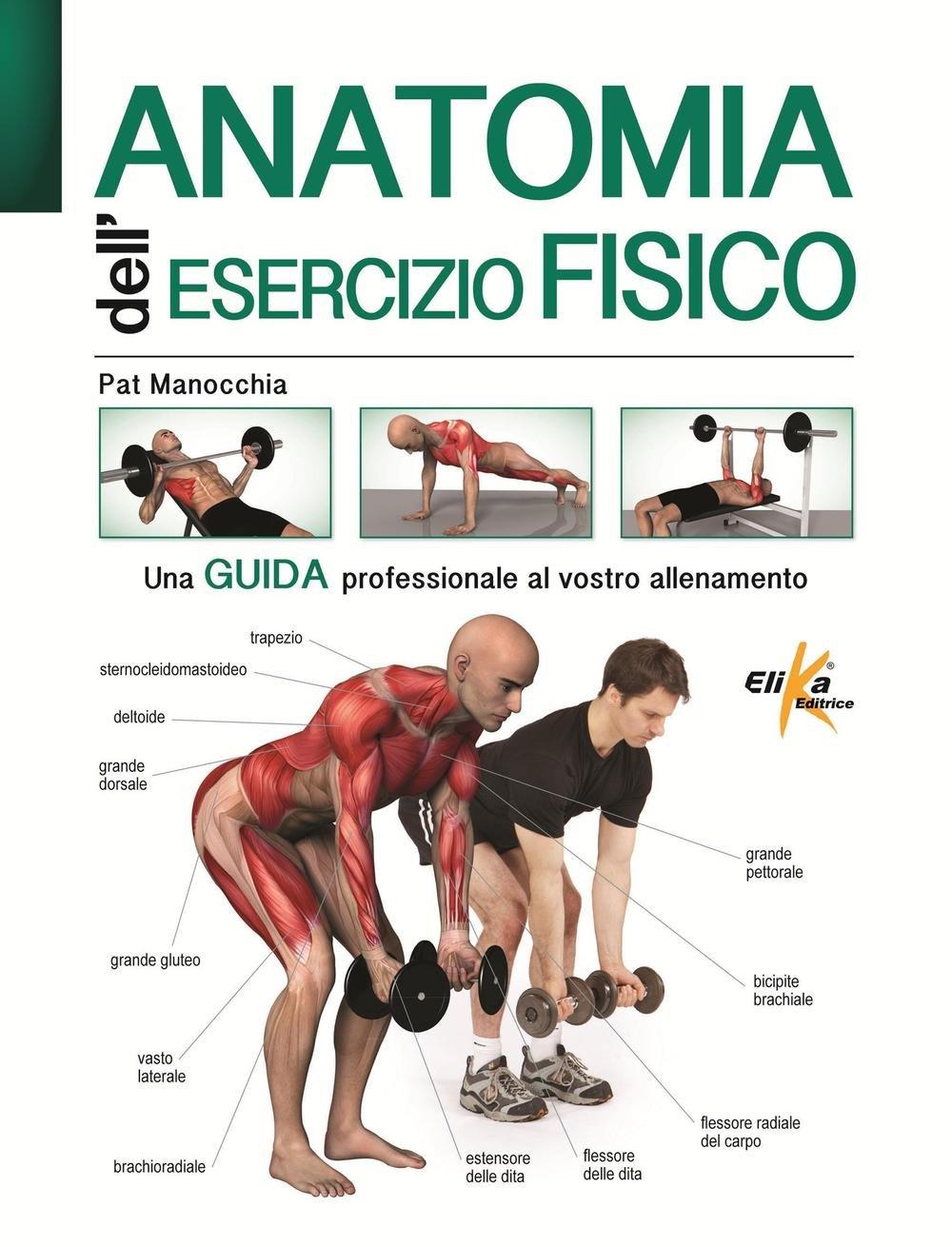 Anatomia dell'esercizio fisico Copertina flessibile – 20 ott 2016 Pat Manocchia Elika 8898574371 Manuali