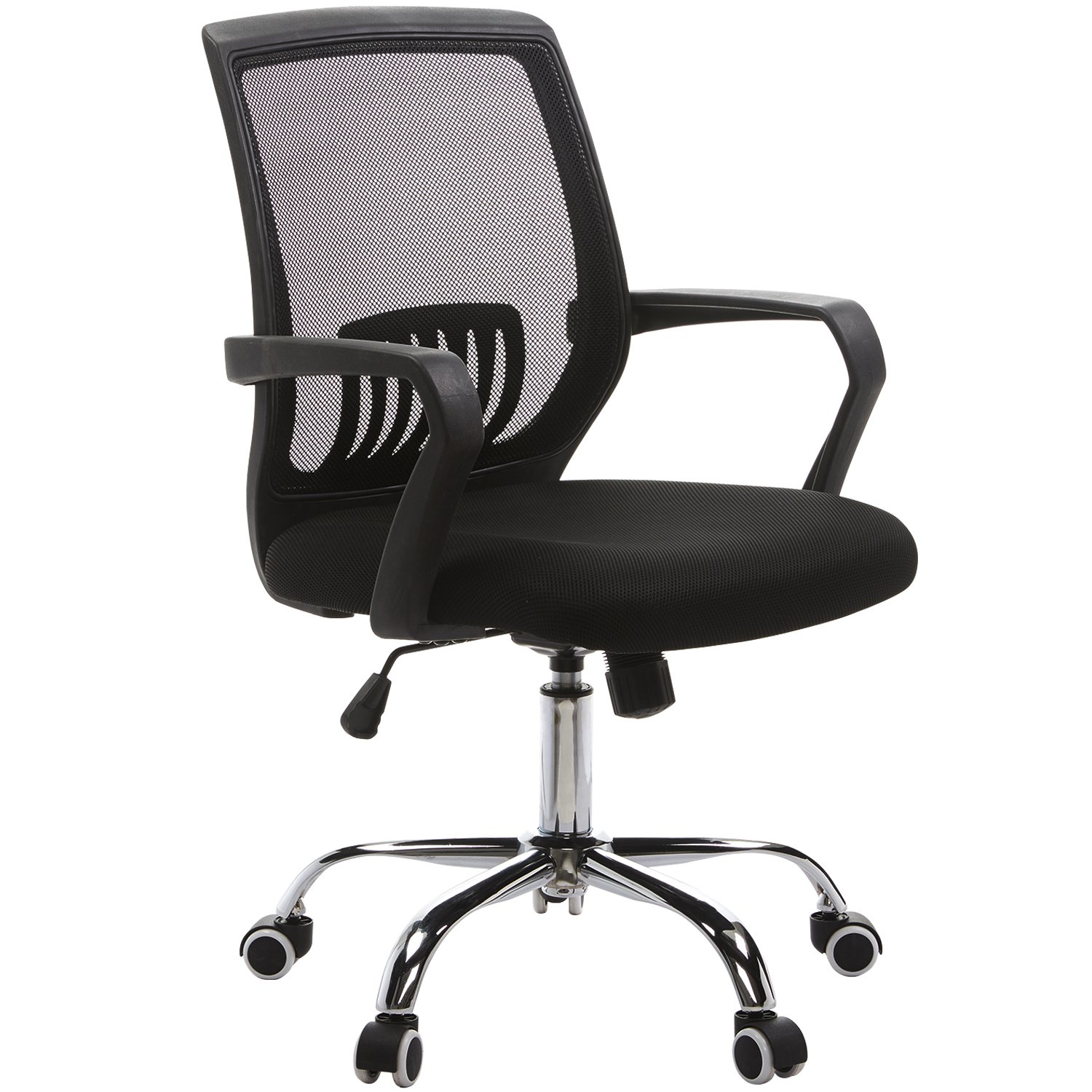 VECELO Adjustable Computer / Office / Task Chair - 360 Degree Swive