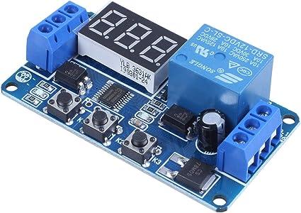 Modulo di relè per interruttore di controllo timer di ritardo elettronico