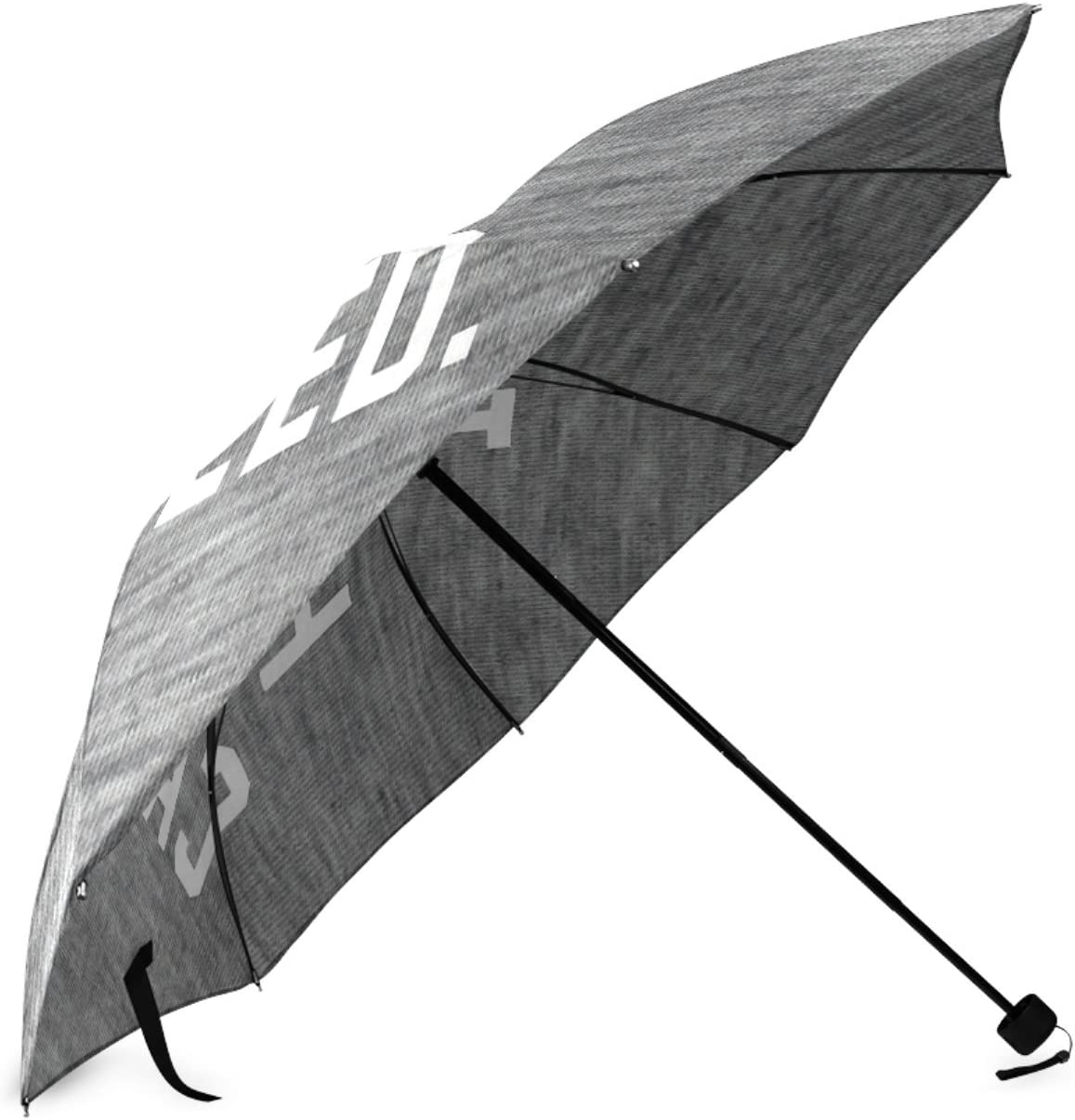 Personalized Today Has Been Cancelled Sun Rain Travel Umbrella Waterproof