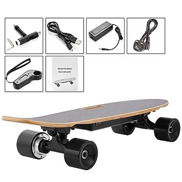 269aa4f7c366 ZEARO New Electric Fish-Board Skateboard, Transportation Electric Longboard  with Wireless Handheld Remote Control