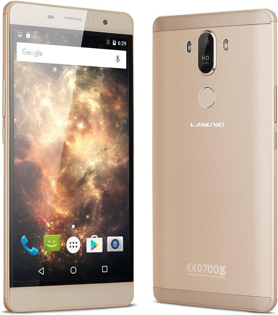 LANDVO MAX - 3G Smartphone Libre Android 6.0 (Pantalla 6.0 ...