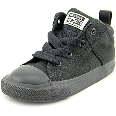 8e8793c2b808 Converse Boys  Chuck Taylor All Star Axel MID (Inf Tod) - Black Black - 8  Toddler