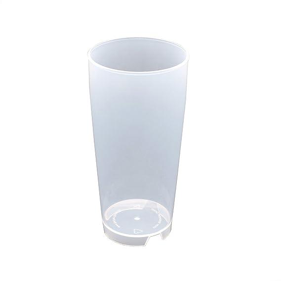 50 Stück 0,3L Mehrwegbecher PP transparent