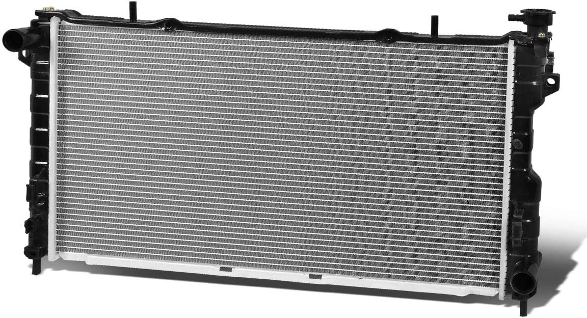 2311 Factory Style Aluminum Cooling Radiator Replacement for 01-04 Grand Voyager//Town/&Country//Dodge Caravan 3.3L//3.8L AT