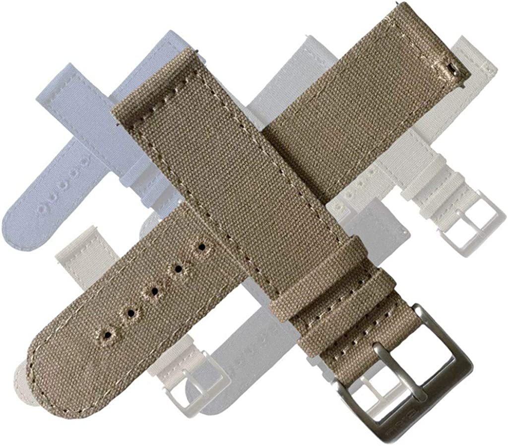 BluShark CanvaSoft 2.0 Watch Bands Multiple Sizes and Colors