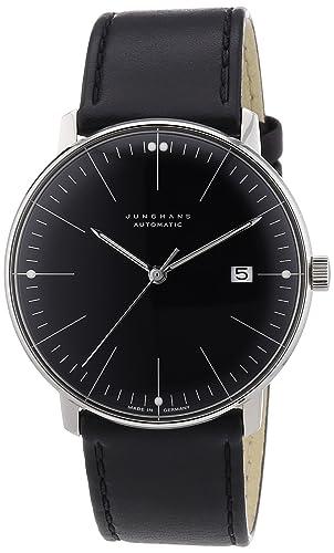 Junghans MAX BILL 027/4701.00 - Reloj para niños de cuarzo, correa de acero inoxidable color plata: Amazon.es: Relojes