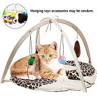 VAMEI Juguetes para Gatos, Cat Play Mat Bed