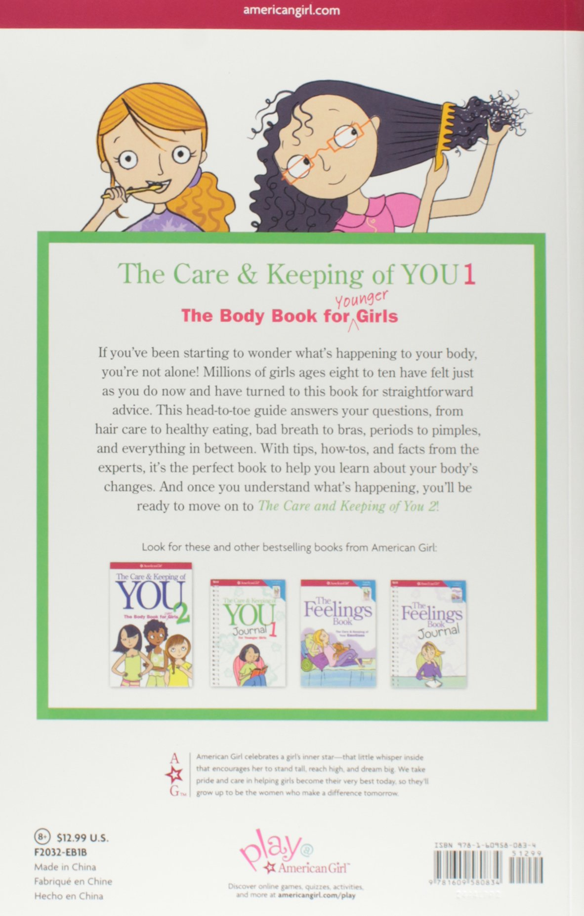 The Care And Keeping Of You: The Body Book For Younger Girls, Revised  Edition: Valorie Schaefer, Josee Masse: 8601404233258: Amazon: Books