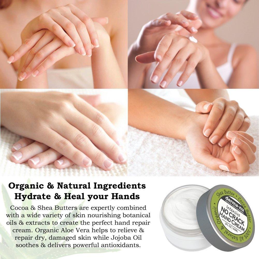 Amazon.com : Intensive No Crack Hand Cream 2 Pack - Best Hand & Foot ...