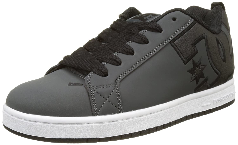 DC Universe Herren Court Graffik Sneaker, White/Gum DC Shoes 300927