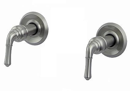 Trim Kit for 2-handle Shower Valve, Fit Delta Washerless Shower ...