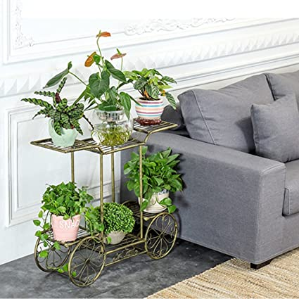Charmant FriendShip Shop Flower Racks  Garden Cart Stand U0026 Flower Pot Plant Holder  Display Rack,