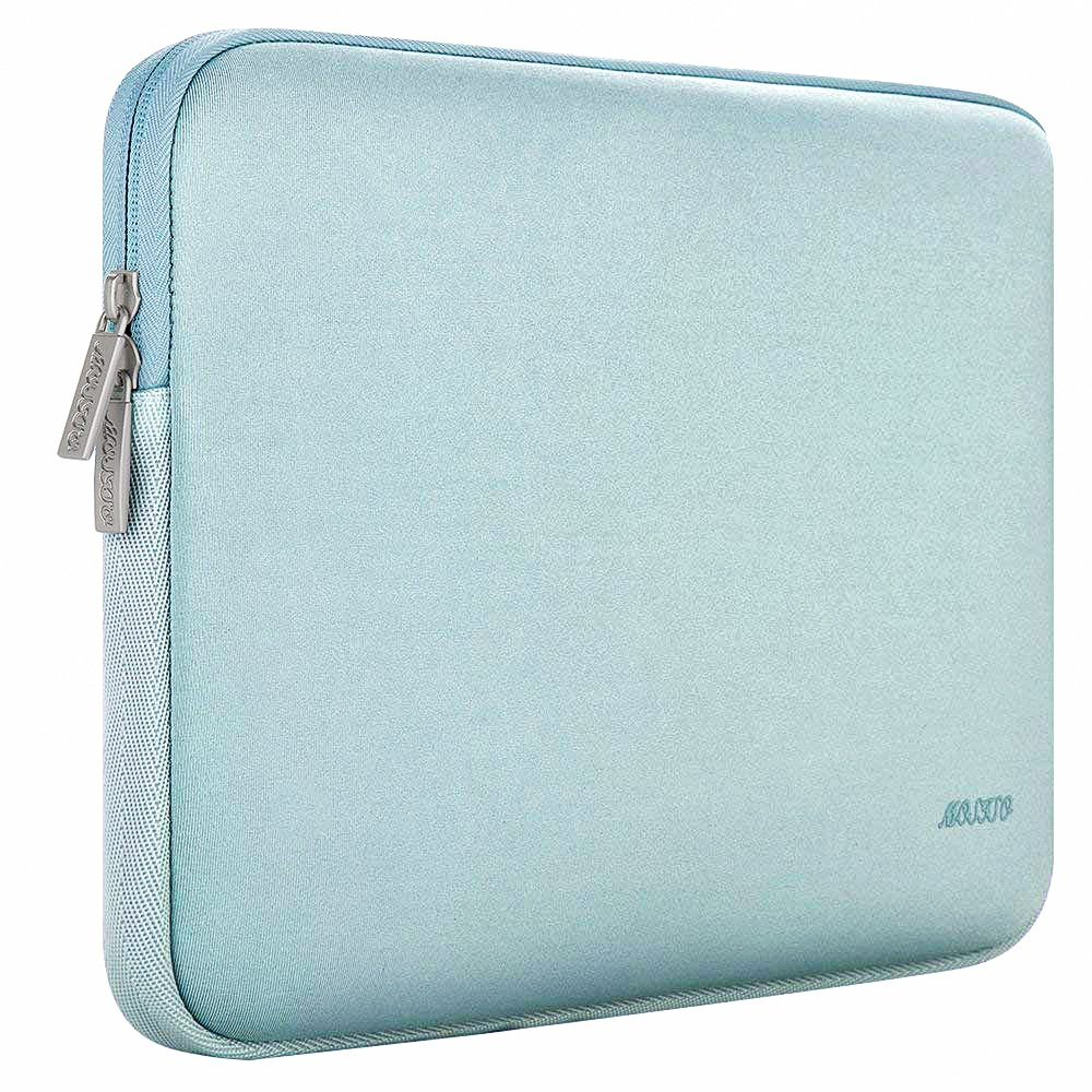 MOSISO Laptop Sleeve Water Repellent Neoprene Bag Cover Compatible 13-13.3 Inch MacBook Pro Notebook with Small Case MacBook Air Deep Teal