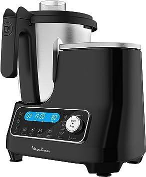 Moulinex HF4568 Click Chef Robot de cocina con función de cocción, Negro: Amazon.es: Hogar