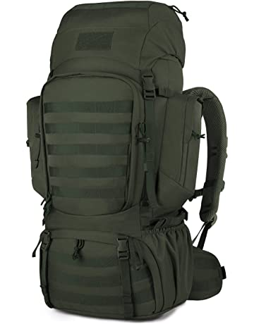 Mardingtop 50L 60L Hiking Backpack Molle Internal Frame Backpacks with Rain  Cover for Tactical Military b8f6408372