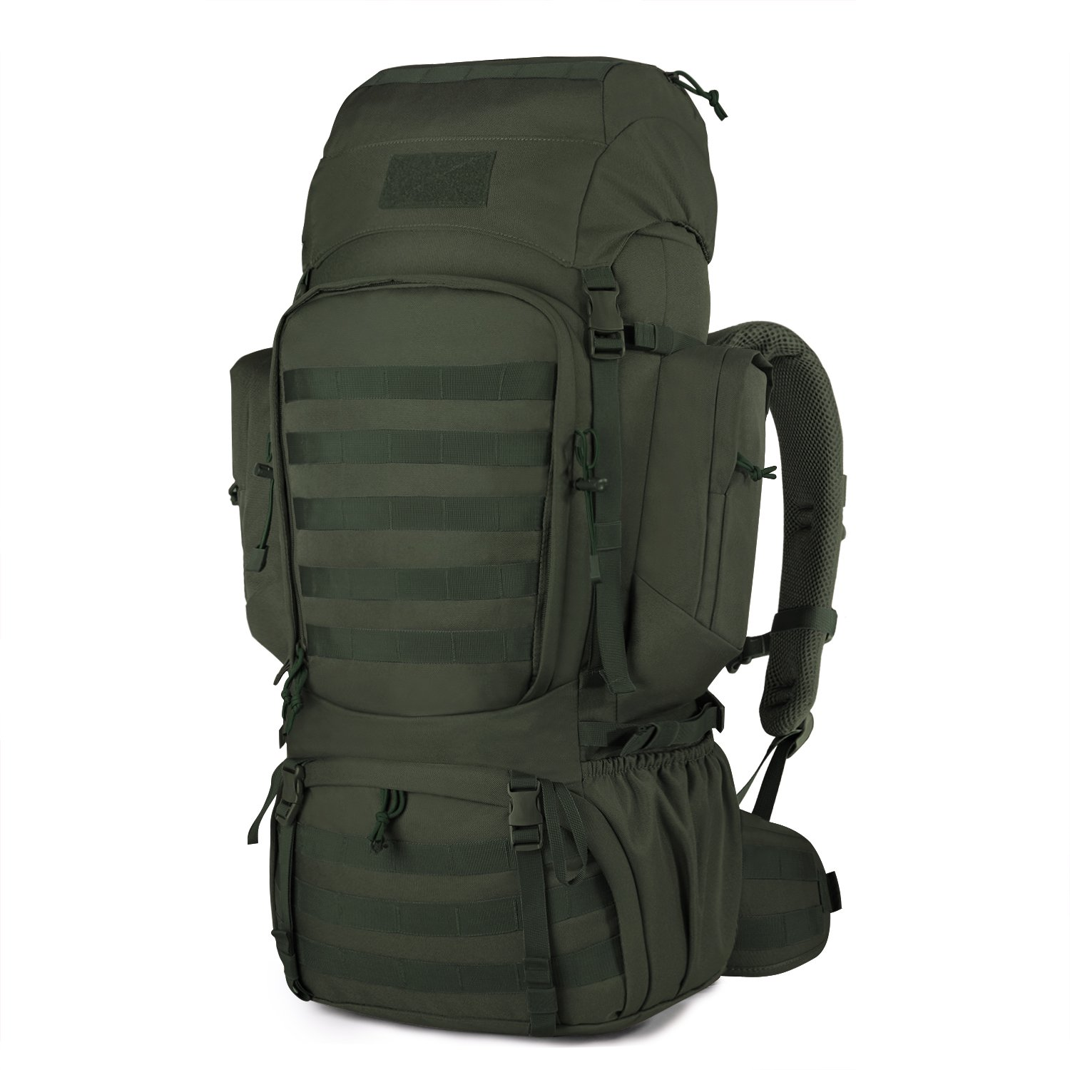 Mardingtop 60L Internal Frame Backpack Tactical Military Molle Rucksack for  Camping Hiking Traveling with Rain Cover 031813775c479