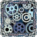 3D Illusion D'optique Roue Dentée Magnétique Puzzle (16 Pièces) - Cogs