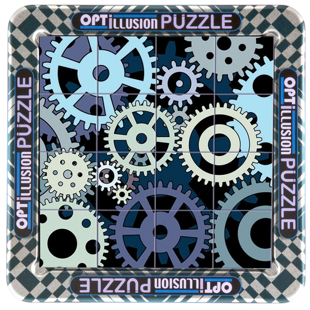 Cheatwell Games Optillusion Zahnrad Puzzle