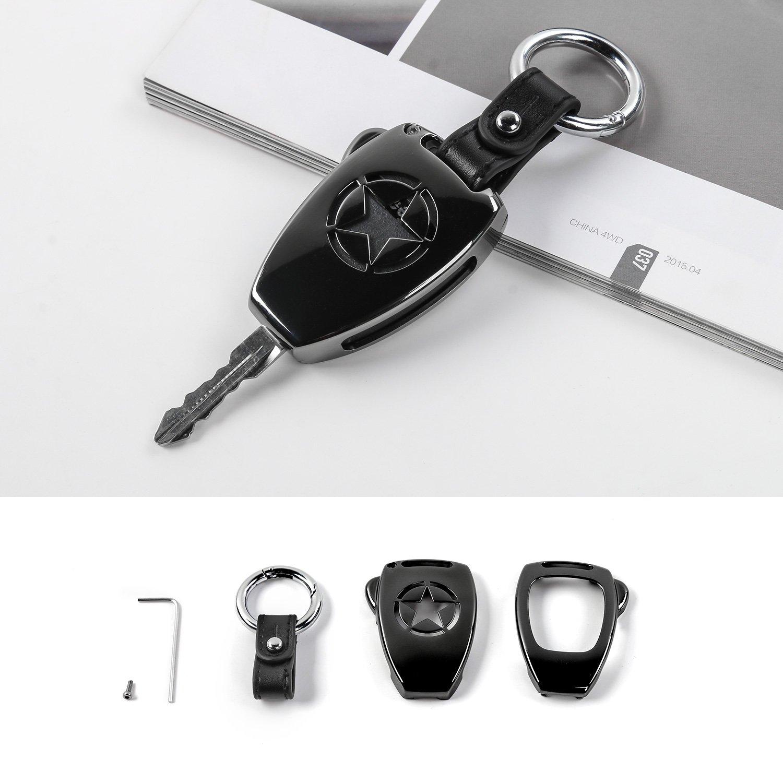 Jecar 8 Hardtop Quick Removal Bolts Thumb Screws /& 8 D Ring Tie Down Anchors for Jeep Wrangler YJ JK JKU JL JLU Sports Sahara Freedom Rubicon X Unlimited X 2 4 door 1995-2019 accessories(Black)