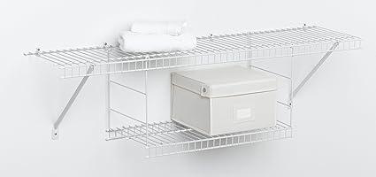 ClosetMaid Hanging Shelf, White #1048