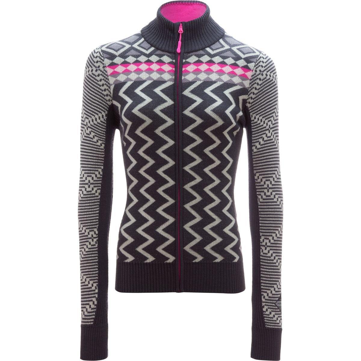 Kari Traa Vinje Full-Zip Knit Jacket - Women's Ebon, S