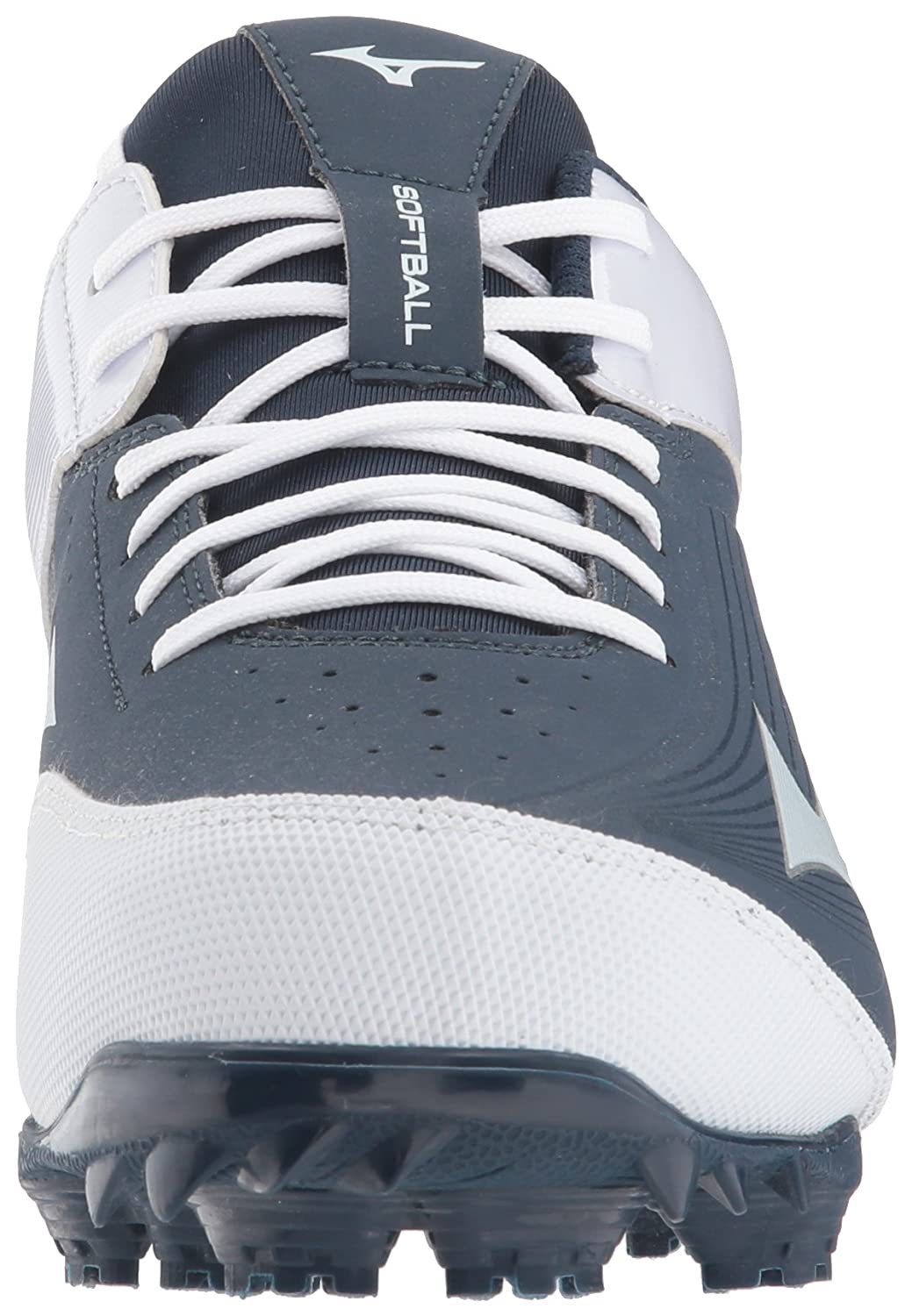 Mizuno (MIZD9)) Women's 9-Spike Advanced Finch Elite 3 Fastpitch Cleat Softball Shoe B071ZZDN33 6.5 B(M) US|Navy/White